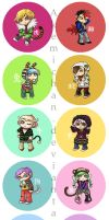 Zodiac Line Up by akemichan