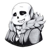 Sans, Pencil and Ink by Valeweaver