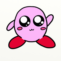 Cute Kirby by AmyLovesPenguins