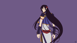 Li Xingke (Code Geass) Minimalist Wallpaper by greenmapple17