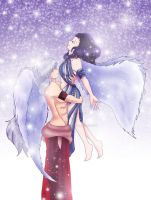 SSXInuKag: Snow Angels by InuKagomeluvrs