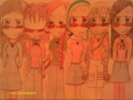 The Six Personas of Me by DenasiaTheKat