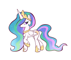 Pony.Celestia by Rayne-Is-Butts
