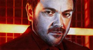 Crowley (drawing) by Quelchii