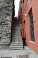 Exorcist Stairs by RAWRimmaFISH