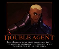 Aqualad double agent by TopcowImage2dF