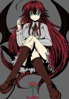 Rias Final Ver 2 by Draugline