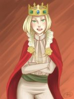 Hetalia Poland- Kneel before me by Sallolomafy