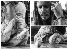 Jack Sparrow - Close up by Esteljf