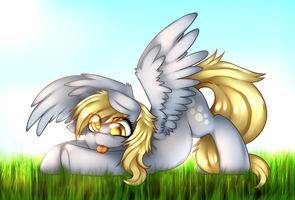 Derpy Hooves by miss-mixi