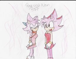 Request: Rose and Nzuri by PikaSonic