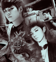 JR and Aron by xSnookix