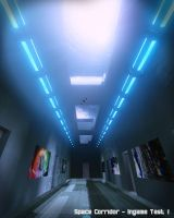 Space Corridor (in-game Test) by Voleuro