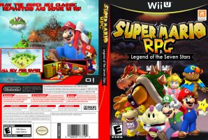 Super Mario RPG Lengend of the seven stars wii u by ShaneProduction2014