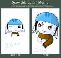Meme:Draw this again 2010 2011 by KathyKid