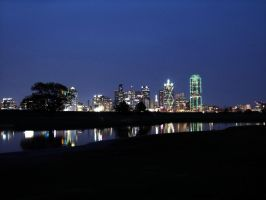 Dallas at Night 1 by Geistson