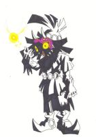 skull kid by palahniuksin666