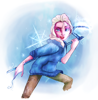 Elsa Frost by Kittykatpaws