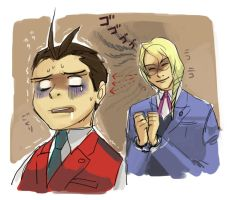 Tragedy of Apollo Justice 1 by koenta