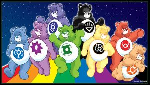 The Care Bear Corps by Wom-bat