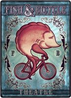 Fish and Bicycle by WishRecurred