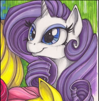 Best Rarity drawing created by: Kattvalk by Crystal-Rarity
