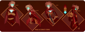 MAGE - Alternate forms by NeonRemix