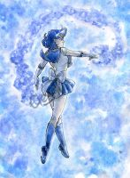 Sailor Mercury by IreneMartini