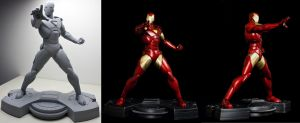 IronMan for bowen Designs by AYsculpture