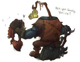 [LoL] Are you lonely, Yorick? by Rookie141