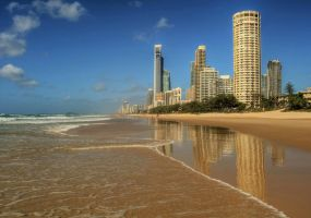 Gold Coast Beach by daniellepowell82