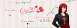 Facebook Cover #8 ~ Amour Sucre - Castiel by MichelleMegurine