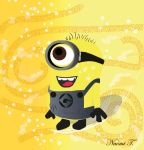 Minion! (First attempt at Digital art) by Naomi-Torrecampo
