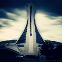 Montreal - Olympic Stadium by DarkSaiF
