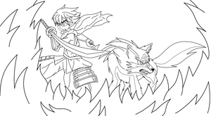 LineArt From ~CachowotheHedgehog~ by SonicTHW93