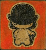 a clockwork orange, sticker by chrislokipuck