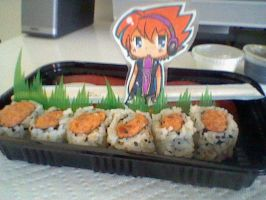 TWEWY- Spicy Tuna Roll by Imimi-Ai