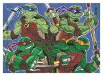PSC Puzzle 02 TMNT by dino-damage