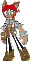Steampunk C8LIN by C8LIN-The-Hedgie