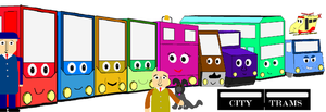The Cast of City Trams by CombineHarvester01