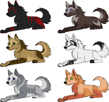CLOSED More 5 points adopts by GreyAdoptables