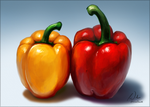 Bell Peppers Speed Paint by charfade