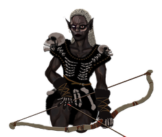 Voodoo the Drow by orcbruto