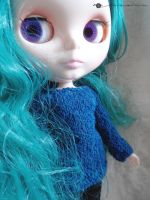 Necked sweater for Blythe by kivrin82