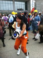 Chell @ Fanime 2012 by Twitchkid