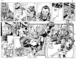 Paradyme 1.0 pgs 4-5 inks by ScottCohn