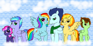 (OLD) SoarinFireDash Family by PurfectPrincessGirl