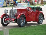 WOLSELEY sports car ,Duxford,spring car show, by Sceptre63