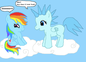 Rainbow Dash and Cloud Cult by mariokinz