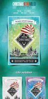 Christmas Flyer/Poster Retro Vol.13 by another-graphic